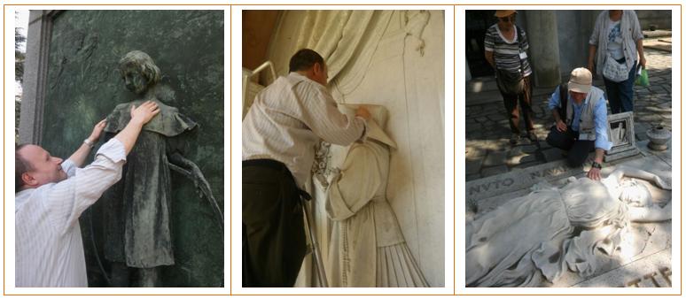 Cimitero Monumentale_Torino_percorso_tattile