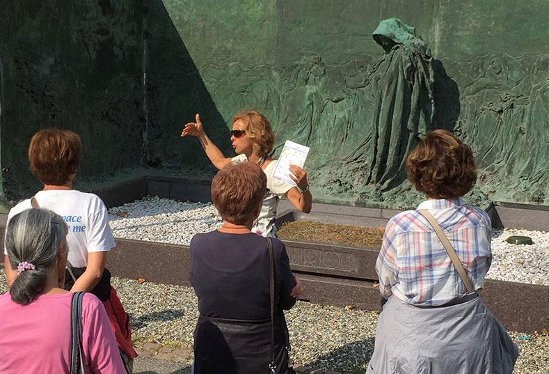 Visite guidée Turin cimetière