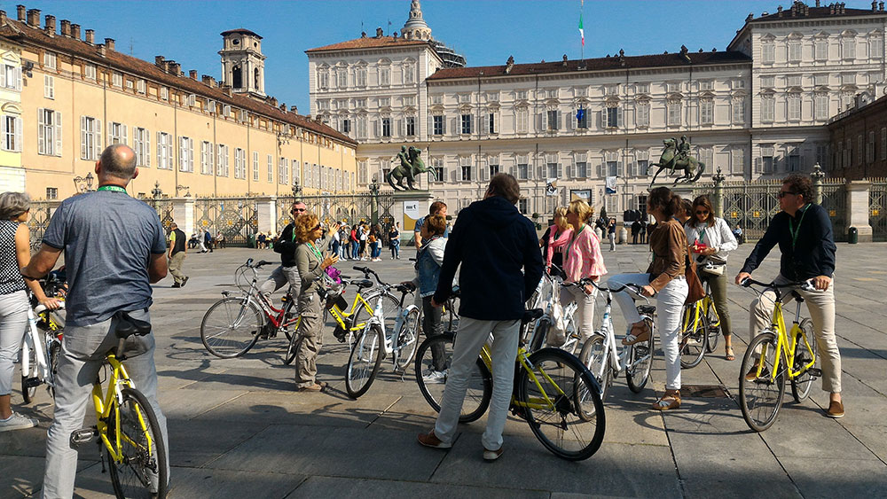 Fahrradtour Turin