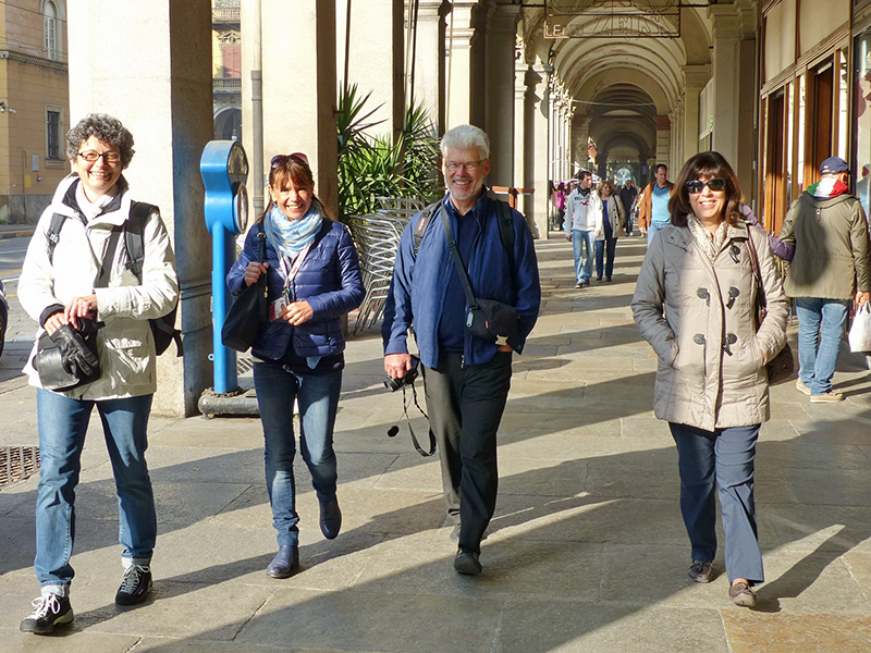 Walking tour Turin