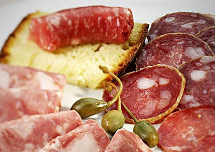 Charcuterie - Tour gastronomique Turin