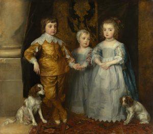 I tre figli maggiori di Carlo