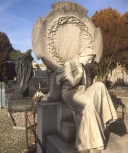 Monumento Martinoia Cimitero Monumentale Torino