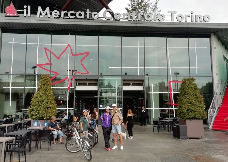 Bike Tour Turin Mercato Centrale