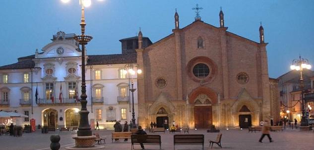Stadtführung in Asti - Kirche San Secondo - Platz