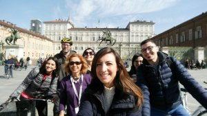 Turin Palace - visita guidata in bicicletta Torino - bike tour Turin
